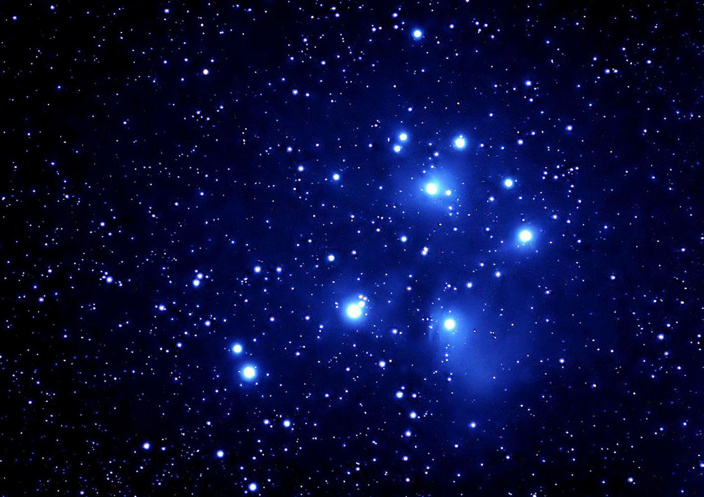 Ammasso aperto m 45 pleiadi for Foto spazio hd
