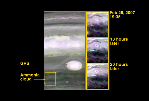 Composition of jupiter atmosphera:  KB; click on the image to view the original website