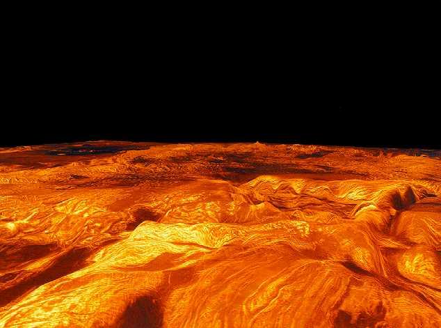 Superficie di Venere: 35 KB