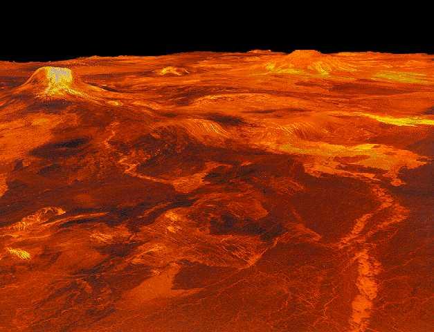 Superficie di Venere: 36 KB