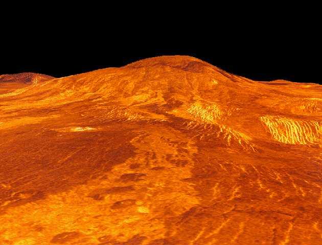 La superficie di Venere: 34 KB