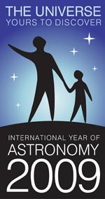Internationa Year of Astronomy: 12 KB; click on the image to enlarge